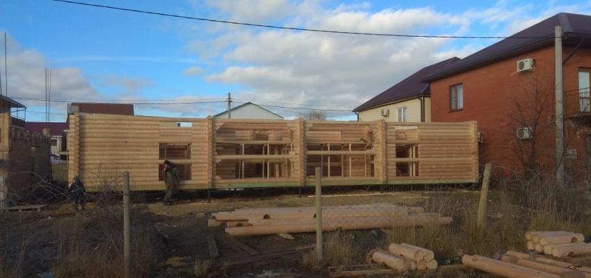Строим гостиницу в Голубицкой