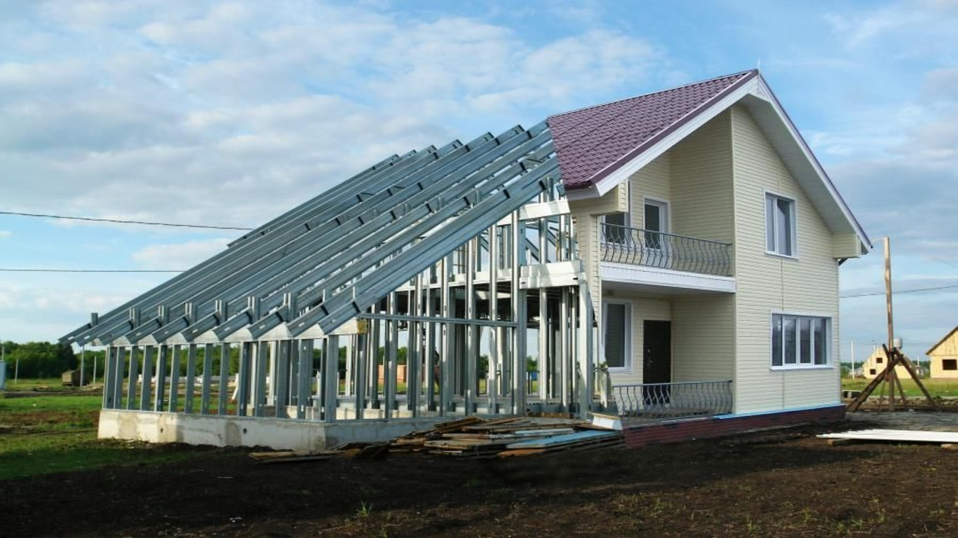 Фото дома из ЛСТК
