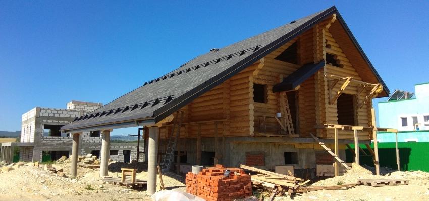 Окончено строительство дома в г-к Анапе, х. Тарусино