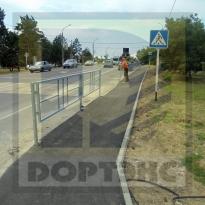 Краснодарский край. Устройство тротуара